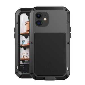 Protect your iPhone 12 mini with one of the toughest and most protective cases on the market, ideal for helping to prevent possible damage from water and dust - this is the stunning, black Love Mei Powerful Protective Case.
