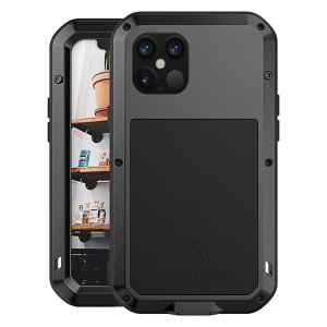 Protect your iPhone 12 Pro Max with one of the toughest and most protective cases on the market, ideal for helping to prevent possible damage from water and dust - this is the stunning, black Love Mei Powerful Protective Case.