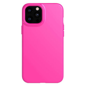 The lightweight, tailored design of this super-slim and stylish case will protect your iPhone 12 Pro and its camera. The easy-to-press buttons add another fun level of interaction while the self-cleaning materials ensure the case stays hygienically clean.