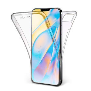 At last, an iPhone 12 mini case that offers complete all around front, back and sides protection and still allows full use of the phone. The Olixar FlexiCover in crystal clear is the most functional and protective gel case yet.