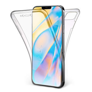 Olixar FlexiCover Full Body iPhone 12 Gel Case - Clear