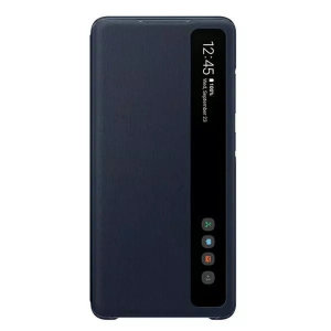 Official Samsung Galaxy S20 FE Clear View Cover - Navy