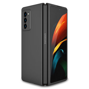 Protect your Samsung Galaxy Z Fold 2 5G from bumps, scrapes and drops with this sleek black Fortis case from Olixar. Featuring a protective, hybrid design with an inner TPU section and an outer impact-resistant exoskeleton.