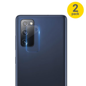 Don't let dust or cracks ruin your photos with this twin pack of tempered glass rear camera protectors for the Samsung Galaxy S20 FE from Olixa. It will protect your rear cameras from scrapes and bumps, allowing your memories to remain in perfect clarity.