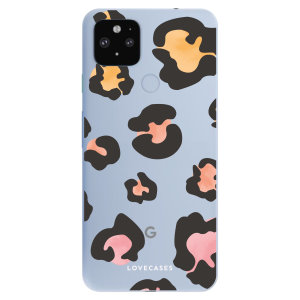 Give your Google Pixel 4a 5G a cute new look with this Coloured Leopard design phone case from LoveCases. Cute but protective, the ultra-thin case provides slim fitting and durable protection against life's little accidents.