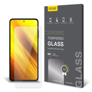 This Olixar tempered glass screen protector for Xiaomi Poco X3, offers 9H toughness, to protect from dust, oil and finger prints. Its easy to apply and helps prevent eye strain so you enjoy high visibility and sensitivity all in one package.
