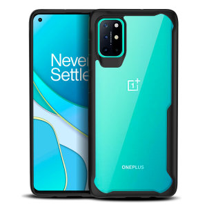 Perfect for Oneplus 8T owners looking to provide exquisite protection that won't compromise the oneplus's sleek design, the NovaShield from Olixar combines the perfect level of protection in a sleek black and clear bumper package.