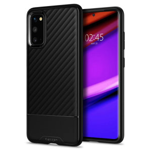 The Spigen Core Armor for Galaxy S20 FE / FE 5G offers the necessary elements of a case without any unnecessary extras. A shock absorbing, matte black TPU is minimally designed to provide top grade protection in an exterior that is tastefully stealthy.