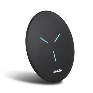 Enjoy the cable-free convenience of fast wireless charging with this super thin and compact wireless charger from Olixar. Offering up to 10W, the pad has been designed to be compatible with your iPhone 12 mini and other IOS / Android devices.