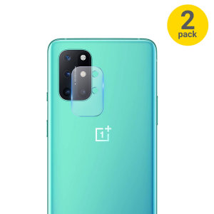 Olixar OnePlus 8T Tempered Glass Camera Protectors - Twin Pack