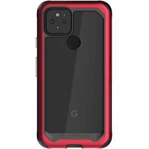 Ghostek Atomic Slim 3 Google Pixel 5 Case - Red Aluminum