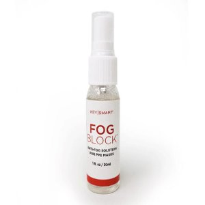 Never again have to worry about your glasses fogging up whilst wearing your PPE mask or glasses with this KeySmart Anti-Fog Solution. Simply spray it onto your lenses, leave it for 5 minutes and enjoy clear, crisp vision for the rest of the day.
