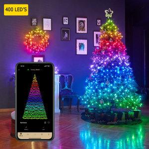 Twinkly Smart RGB 400 LED String Lights Gen II - W/ US adapter