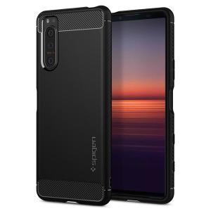 Spigen Rugged Armor Sony Xperia 5 II Tough Case - Black