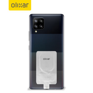 Add wireless charging to your Samsung Galaxy A42 5G without replacing your back cover or case with this Olixar Ultra Thin USB-C Qi Wireless Charging Adapter.