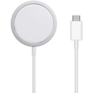 Official Apple MagSafe Qi Enabled Fast Wireless Charger - White