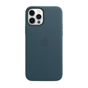 Custom moulded for the iPhone 12 Pro Max, this Official Apple sleek Blue Genuine Leather Case contains a magnetic ring allowing MagSafe accessories and chargers to easily snap on the back, as well as excellent protection against lifes little accidents.