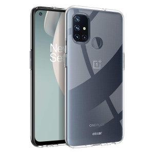 Olixar Flexishield OnePlus Nord N100 Case - 100% Clear