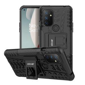 Olixar ArmourDillo Oneplus Nord N100 Protective Case - Black