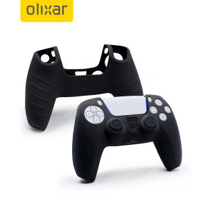 Keep your PlayStation 5 controller protected in this sleek and minimalist soft silicone cover in black. This silicone cover allows your gaming experience to be more comfortable, adding extra grip and protection from scratches and scrapes.