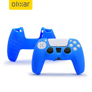 Keep your PlayStation 5 controller protected in this sleek and minimalist soft silicone cover in blue. This silicone cover allows your gaming experience to be more comfortable, adding extra grip and protection from scratches and scrapes.