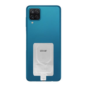 Add wireless charging to your Samsung Galaxy A12 without replacing your back cover or case with this Olixar Ultra Thin USB-C Qi Wireless Charging Adapter.