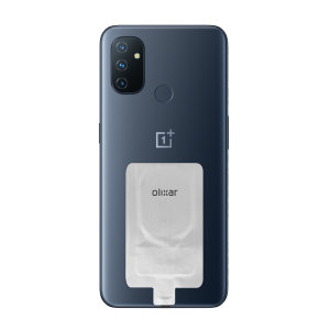 Add wireless charging to your OnePlus N100 without replacing your back cover or case with this Olixar Ultra Thin USB-C Qi Wireless Charging Adapter.