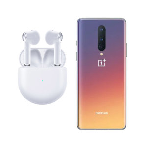 Official OnePlus 8 True Wireless EarBuds - White