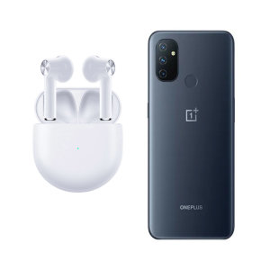 Official OnePlus N100 True Wireless EarBuds - White