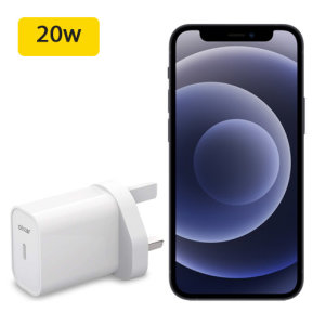 At 20W, this PD Olixar USB-C UK wall charger is significantly faster than the typical 5W - allowing it to quickly and effectively charge your iPhone 12 mini. Power up quickly and powerfully using the stunning, White Olixar USB-C 20W UK Wall Charger.