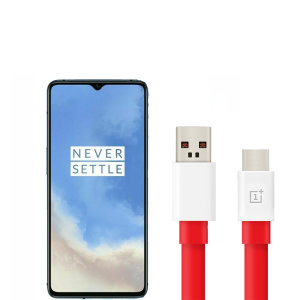 Official OnePlus 7T Warp Charge USB-C Charging Cable 1m - Red