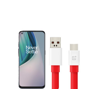 Official OnePlus N10 5G Warp Charge USB-C Charging Cable 1m - Red