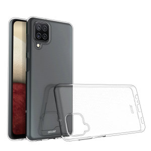 Custom moulded for the Samsung Galaxy A12, this 100% clear Ultra-Thin case by Olixar provides slim fitting and durable protection against damage