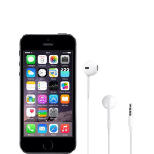Official Apple iPhone 5s EarPods with 3.5mm Headphone Plug White