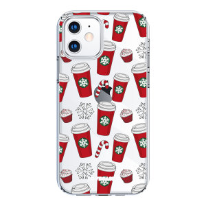 Add some Christmas cheer to your iPhone 12 mini with this red cups design from LoveCases. Cute and protective, this ultra-thin clear case provides the perfect fit, grip and durable protection from drops, bumps and scratches.