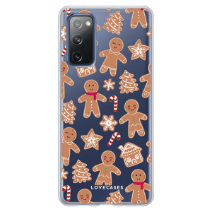Give your Samsung Galaxy S20 FE a festive new look with this Christmas gingerbread phone case from LoveCases. Cute but protective, the ultra-thin case provides slim fitting and durable protection against life's little accidents.