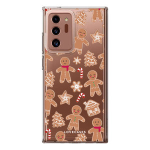 LoveCases Samsung Galaxy Note 20 Ultra Gel Case- Christmas Gingerbread
