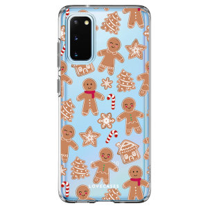LoveCases Samsung Galaxy S20 Gel Case - Christmas Gingerbread