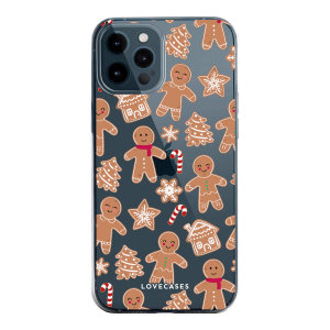 Add some Christmas cheer to your iPhone 12 Pro with this festive gingerbread design from LoveCases. Cute and protective, this ultra-thin clear case provides the perfect fit, grip and durable protection from drops, bumps and scratches.