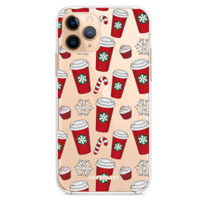 Add some Christmas cheer to your iPhone 11 Pro with this red cups design from LoveCases. Cute and protective, this ultra-thin clear case provides the perfect fit, grip and durable protection from drops, bumps and scratches.