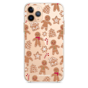 Give your iPhone 11 Pro Max a festive new look with this Christmas gingerbread phone case from LoveCases. The protective and ultra-thin case provides slim fitting and durable protection against life's little accidents.
