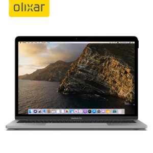 """Keep your MacBook Pro 13"""" 2020 screen in pristine condition and protect your personal data on the go with this Olixar scratch-resistant film privacy screen protector. Feel secure with Olixar."""