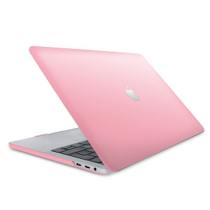 "The ToughGuard Hard Shell Case in pink gives your Macbook Pro 13"" 2018 the protection it needs without adding any unnecessary bulk. Get scratch and drop protection, while adding a touch of style to your MacBook Pro."