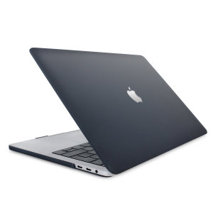 Olixar ToughGuard Macbook Pro 13 Inch 2020 Hard Shell Case - Black