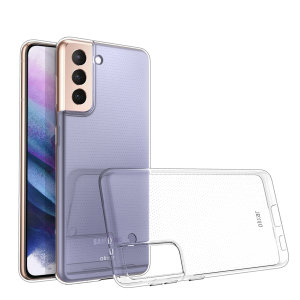 Custom moulded for the Samsung Galaxy S21 Plus, this 100% clear Ultra-Thin case by Olixar provides slim fitting and durable protection against damage
