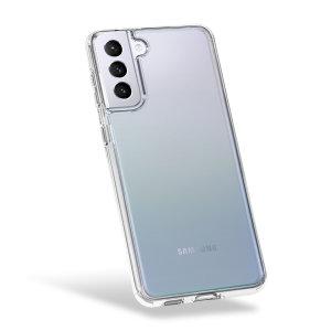 Olixar Antibacterial NovaShield Samsung S21 Plus Bumper Case - Clear