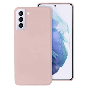 Custom moulded for the Samsung Galaxy S21 Plus, this Pastel Pink Soft Silicone case from Olixar provides excellent protection against lifes little accidents, as well as a slimline fit for added convenience.