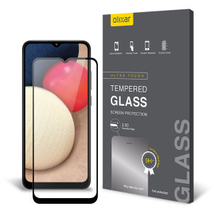 Olixar Samsung Galaxy A02s Tempered Glass Screen Protector