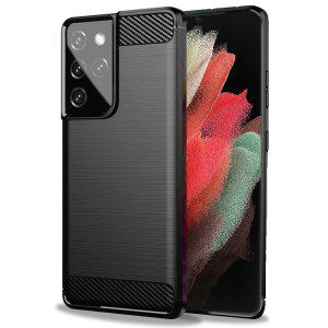 Olixar Samsung Galaxy S21 Ultra Sentinel Protective Case - Black