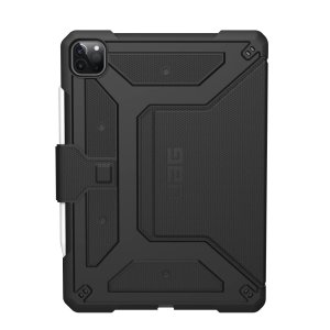 Protect your new iPad Air 4 2020 with this feather light, sleek, black UAG Metropolis Case. This stunning case has an adjustable stand for watching movies, an Apple pencil holder and offers 360 degree protection from lifes little accidents.